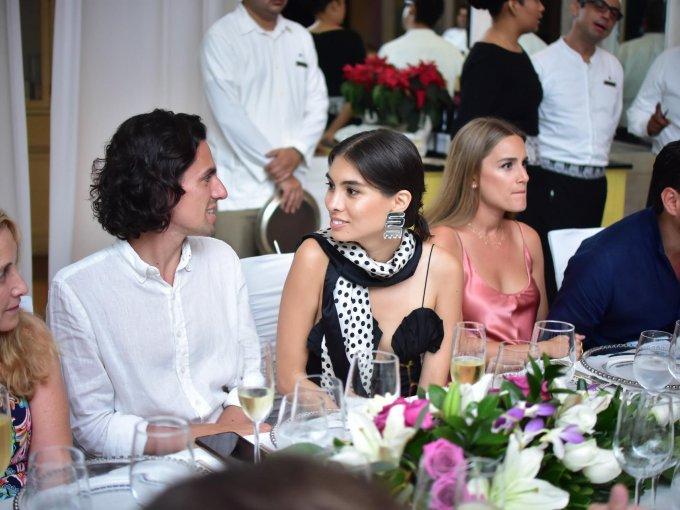 Domingo Delaroière y Fernanda Millán