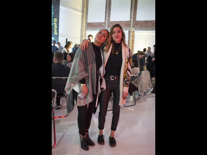 Ale Tapia y Ana García