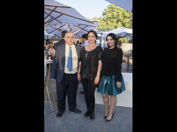 Gonzalo Leaño, Patricia Aceves y María Fernanda Leaño Aceves
