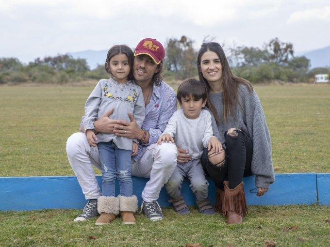 Toño Madrazo celebró con su esposa Isabel Ogarrio y sus hijos Carlota y Alonso