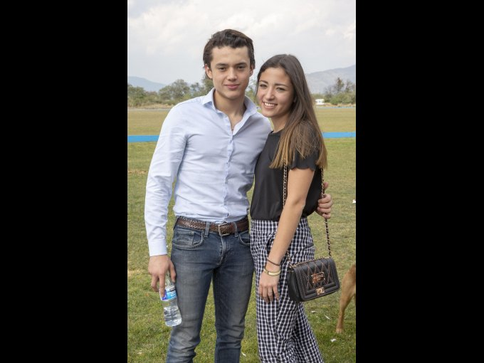 Iñaki Casas y Marina Maldonado