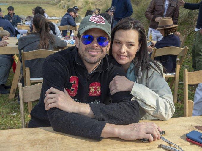 Eduardo de la Vega y Cristina Ruiz de Velasco