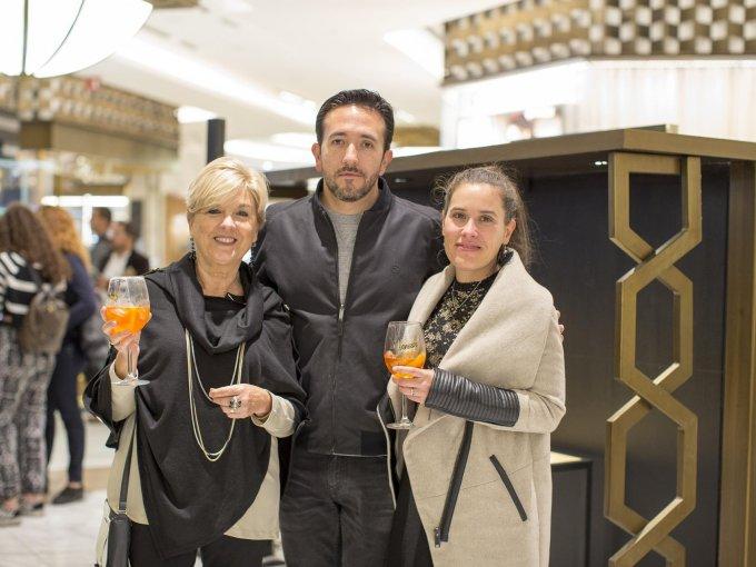 Liliana Jujnovsky, Rodrigo Fernández y Julieta Jujnovsky