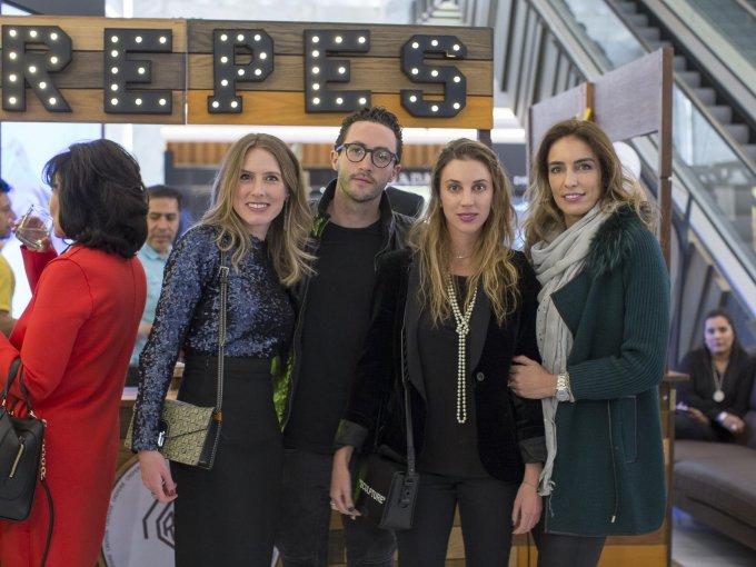 Maia Jujnovsky, Alex Reider, Anna Tazzer y María Colla