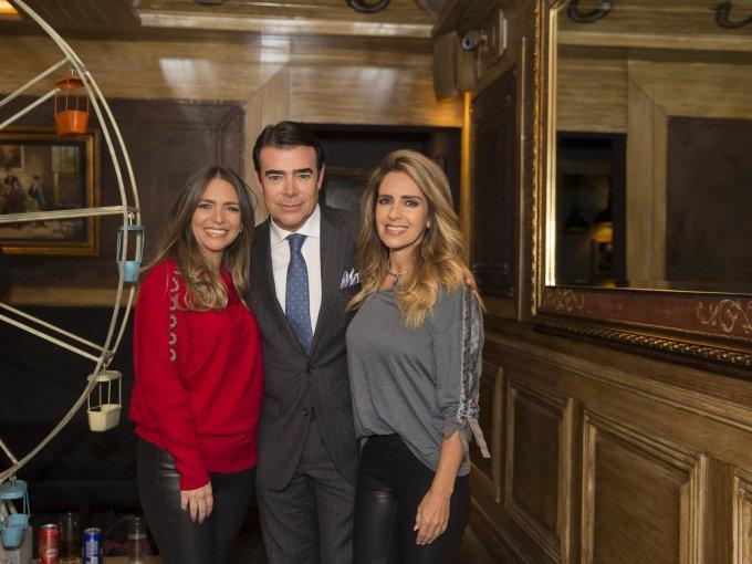 Fefi, Toño y Graciela Mauri