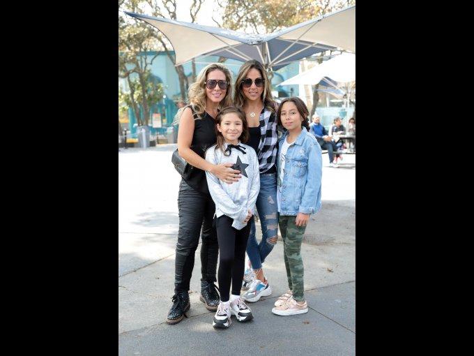 Daniela Colín, Aranza Ojeda, Vanesa Flores y Constanza Baltasar