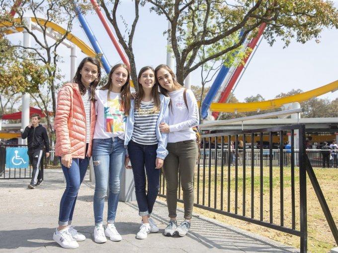 Pamela Pages, Loreto Laposse, Ana Sofía Leal y Marian Medrano