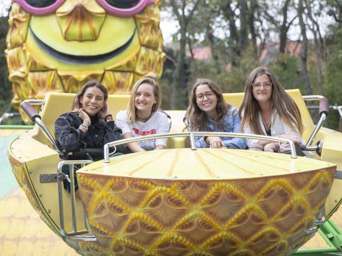 Camila Celis, María Paula Salcido, Ana Paula Díaz y Pilar Garza