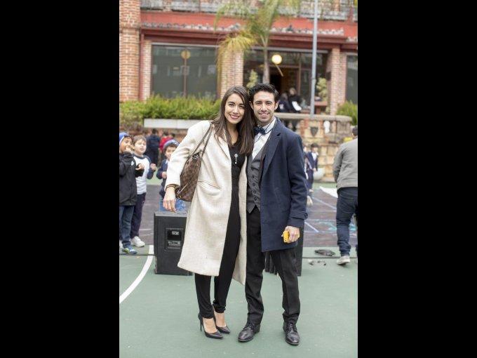 Natalia Leal e Iker Paredes