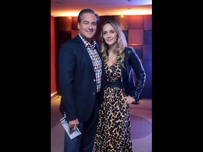 Eduardo Echeverría y Rosario Cárdenas
