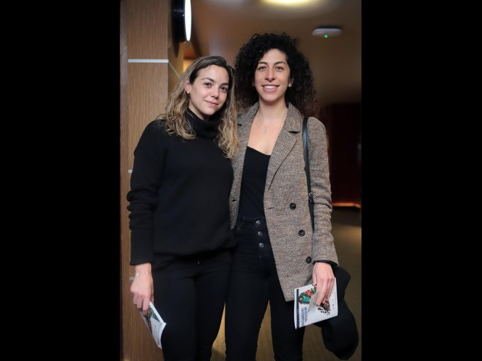 Marlene Mizrahi y Claudia Frey