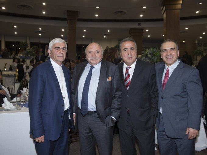 George Abi Younes, José Abed, Samir Harp y Luis Safar