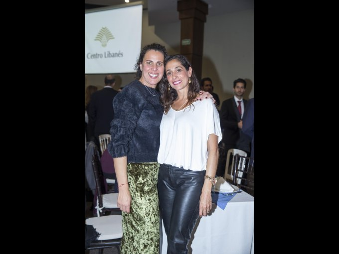 Lucía Karam y Rebeca Maccise