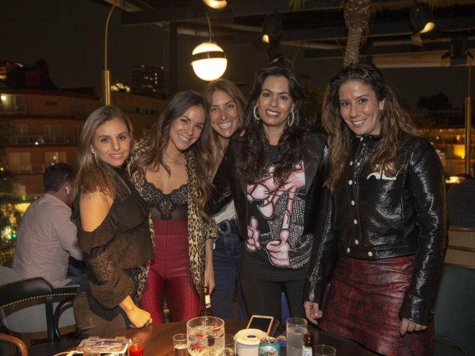 Susana Padua, Cuca Díaz, María Jacobo, Gilda Villarreal y Brenda Nahoul