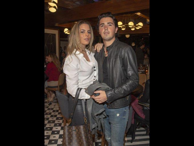 Valeria Araico y Rodrigo Quintanilla