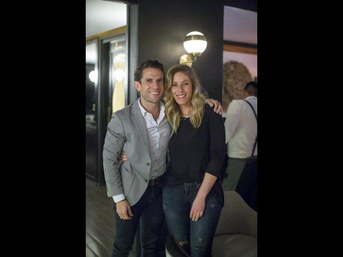 Iker Correa y Michelle Arroyo