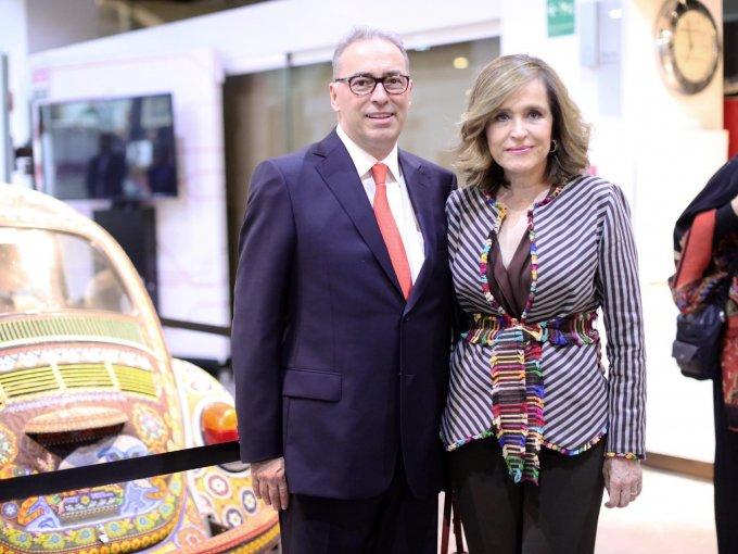 Eugenio Guzmán y Ninfa Sada