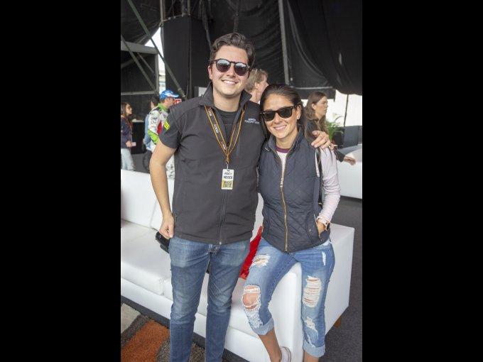 Fernando Gómez y Claudia Luna