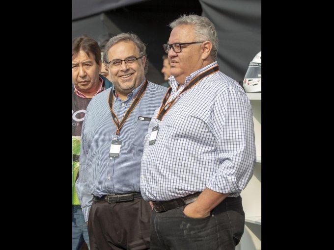 Pablo Elías y Arnoldo Ochoa