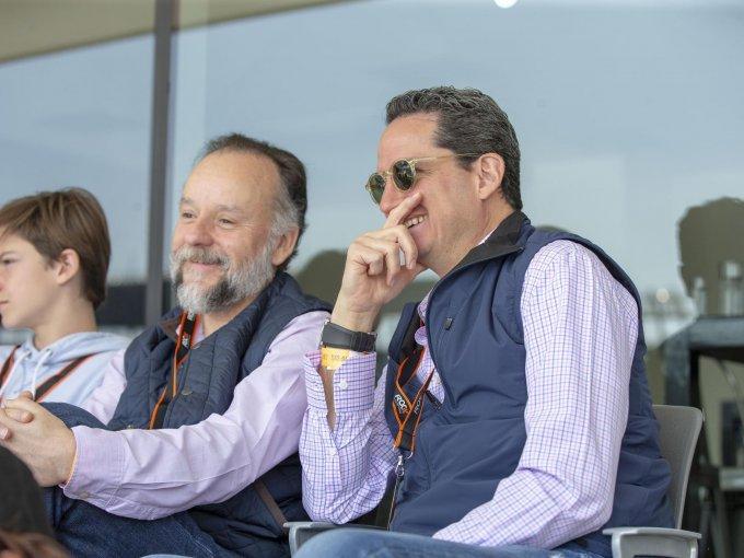 Juan Manuel Morales y Gerardo Candaro
