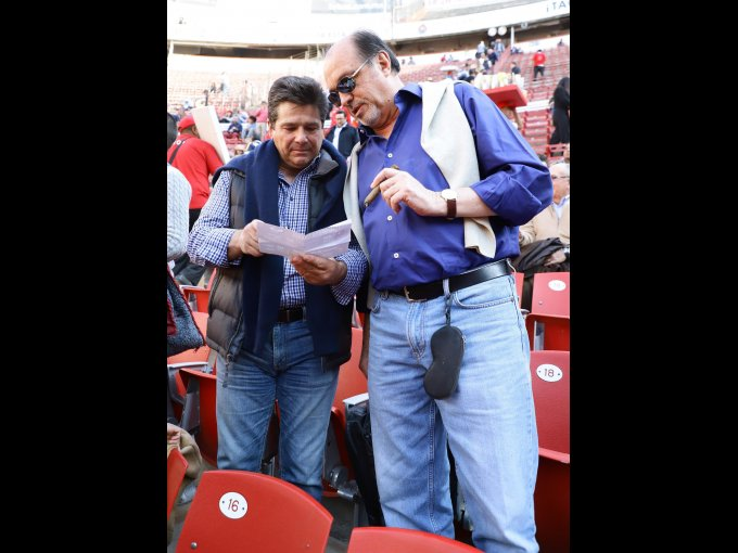 Felipe Vallina y Manuel Marrón