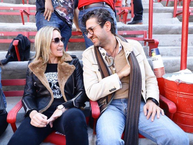 Claudia González y Jorge Clasing