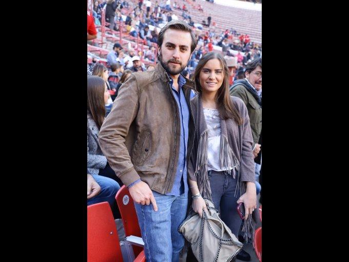 Diego y Paola Barroso