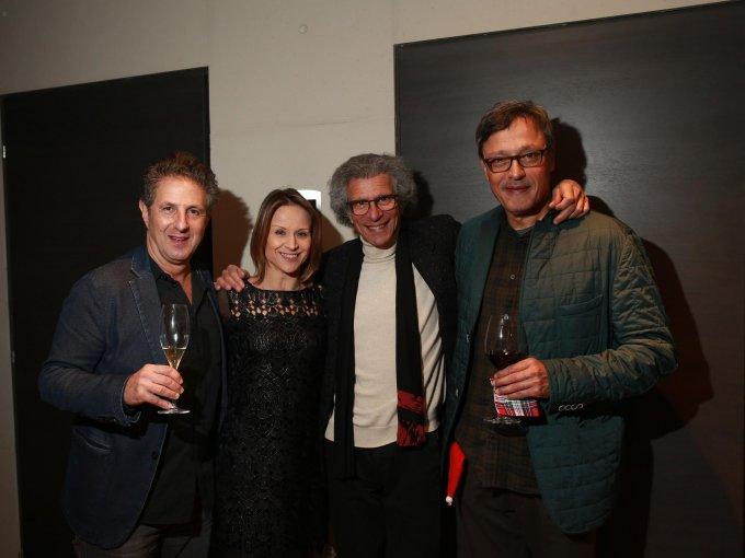Natan Rosen, Silvia Carusillo, Luigi Maccotta y Domingo Delfino