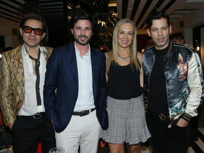Emilio Dipp, Miguel Vargas, Marisa Abedrop y Ramón García
