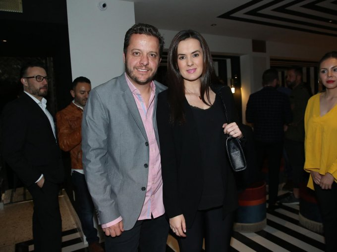 Hernán Ramos y Mabela Díaz
