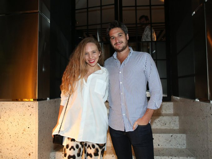 Paula Schilling y Jaime Vidal
