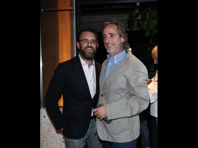Max Feldman y Jean Padrón