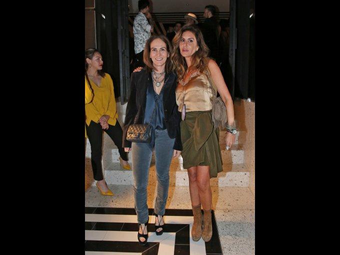 Paola Garduño y Alejandra Funtanet