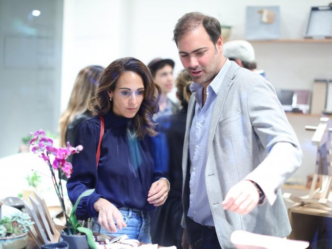 Macarena Lelio con Gonzalo Carredano