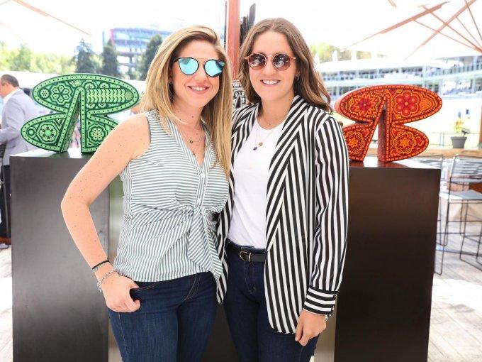 Pamela Mora y Sofía Arana