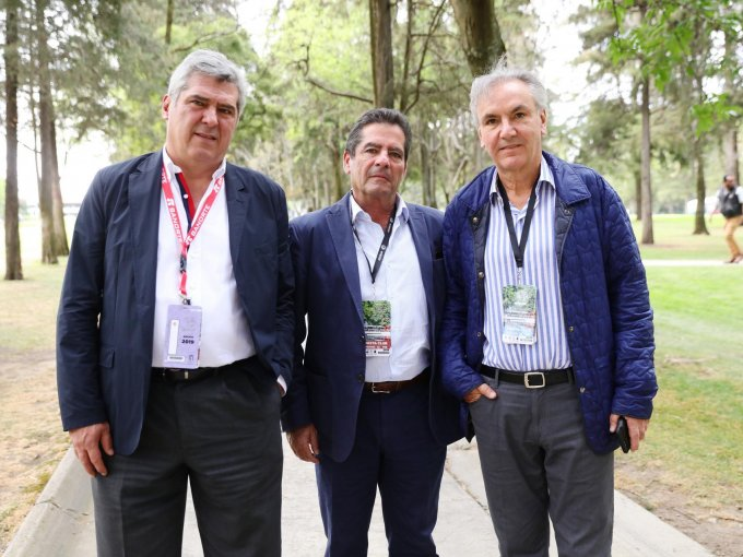 Javier Pérez Teuffer, Diego Gaxiola y Mauricio Rivera Torres