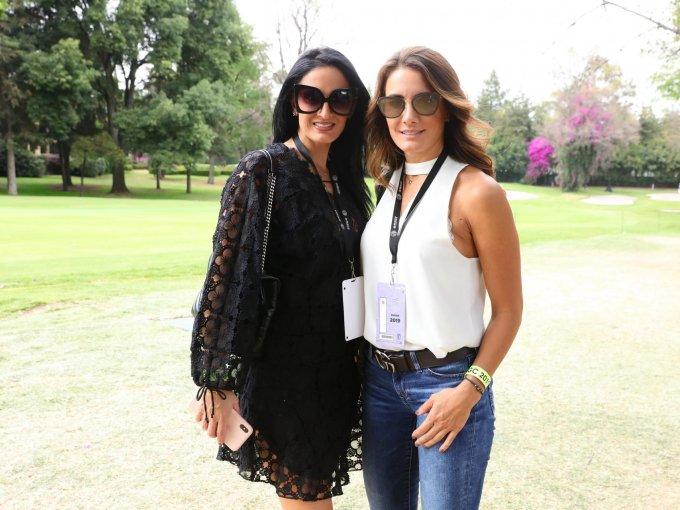 Verónica Aramburu y Martha Paola Peralta