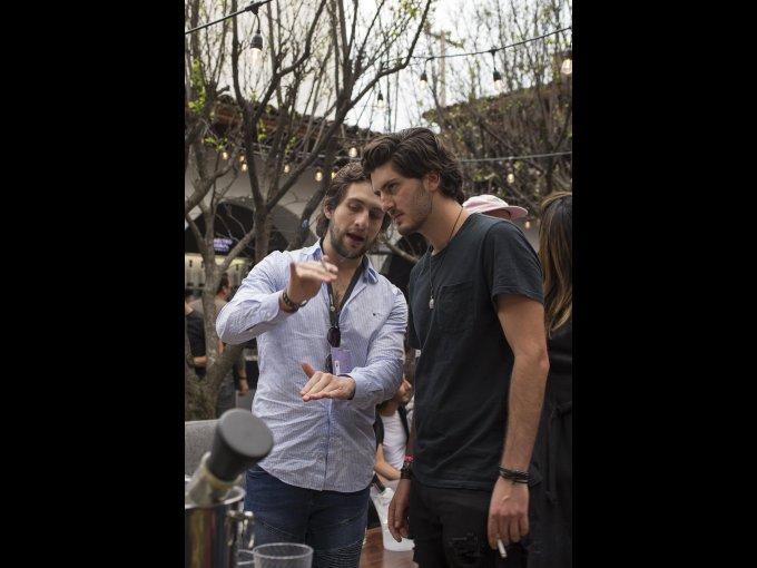 Santiago Dondé y Alonso Guzmán