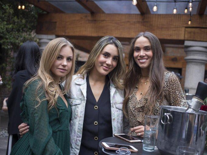 Regina Cordero, Marielle Ruesga y Sofía Ochoa