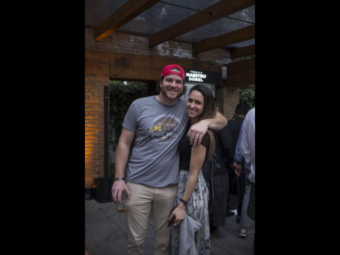 Carter Jordan y Rebeca Landa