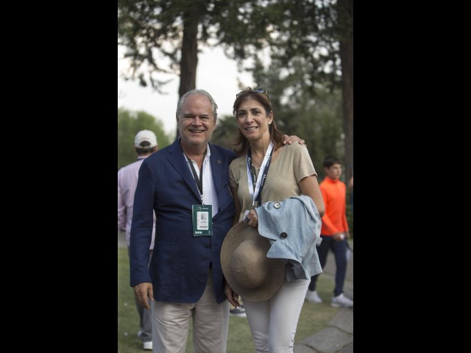 Rodrigo y Almudena Lebois