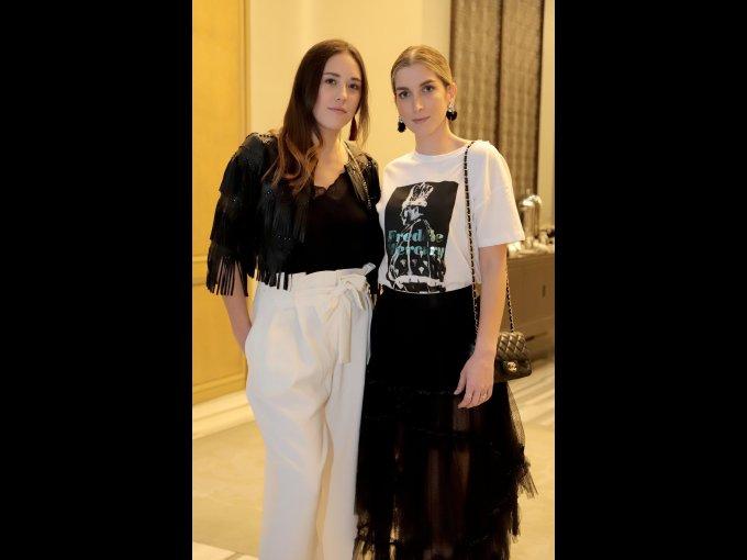 Paulina Hogg y Paola Sierra Chedraui