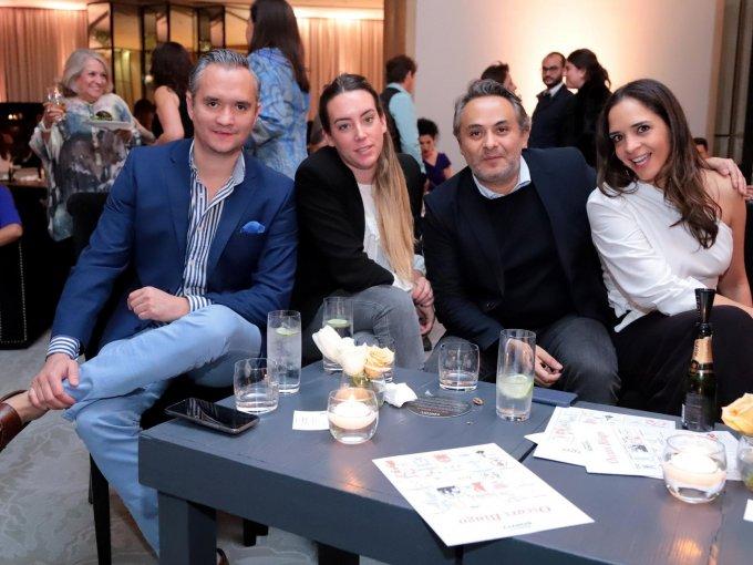 Alex Roer, María Escrivá, Enrique Rubio y Ana García