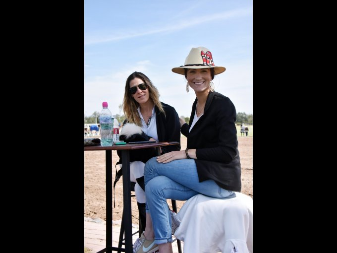 Susana Ruz y Victoria Salas