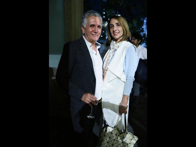 Fernando Blumenkron y Fátima Cabañas
