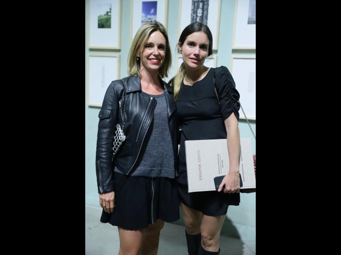 Ana Paula Rivera Torres con Adriana Méndez