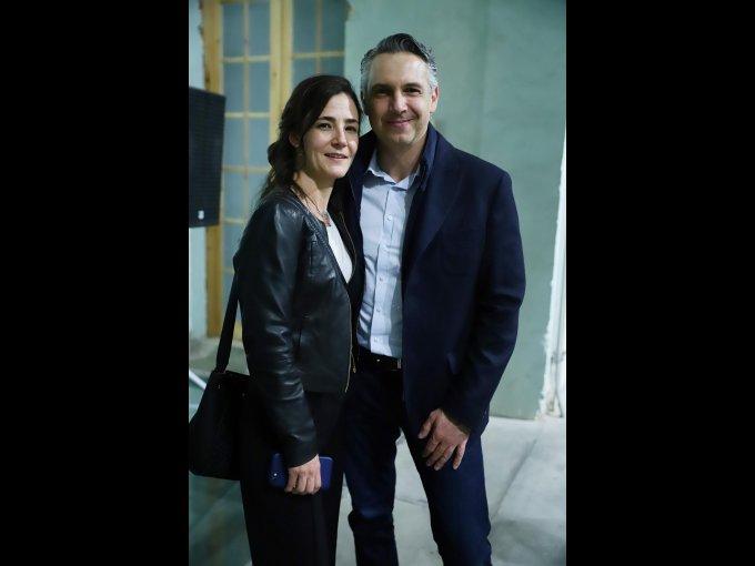 Fernanda y Carlos Asali