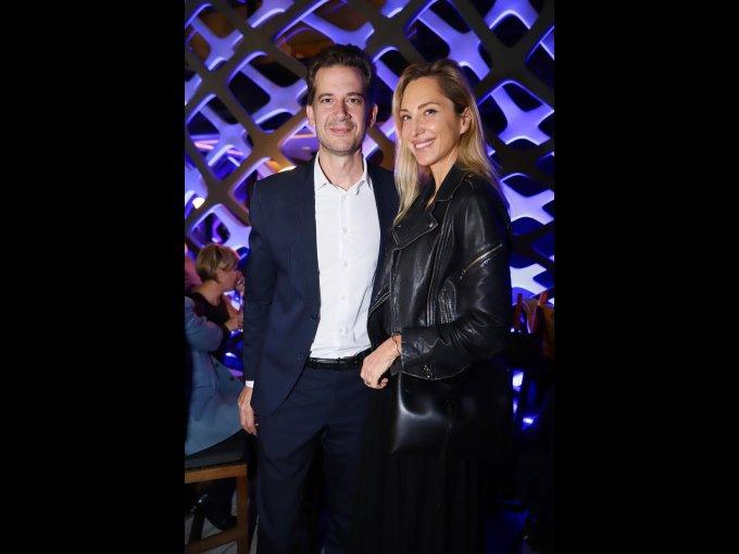 Dennis Stevens y Françoise Lavertu