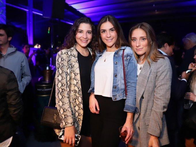 Daniela Villanueva, Eden Carrera y Alejandra Fuente