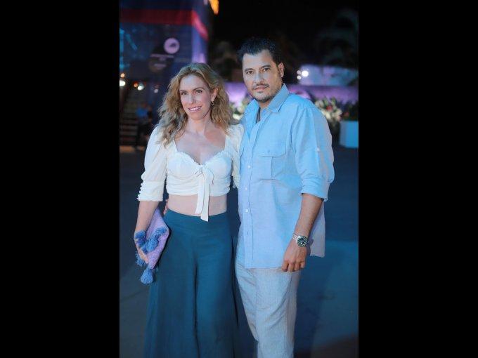 Ninfa Salinas con Rodrigo Ripstein